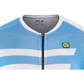 Alé Cycling R-EV1 Piuma Shortsleeve Jersey Herren sky blue-white